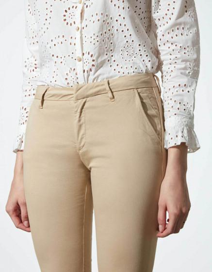 Pantalon chino Sandy - BEIGE