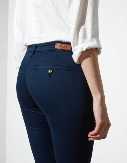 Chino trousers Sandy - DARK NAVY