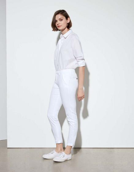 Pantalon chino Sandy - WHITE
