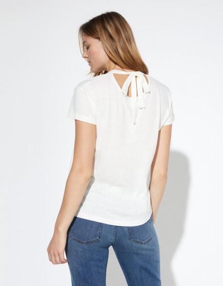 Tee-shirt Tahlya - WHITE