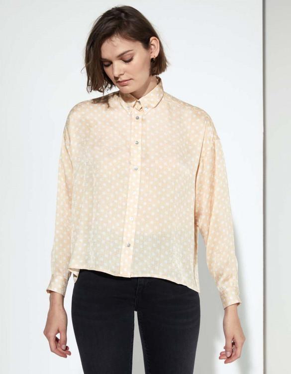 Shirt Bea - CREAM DOTS