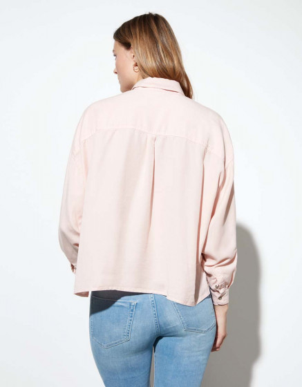 Chemise Bea Color - BABY PINK