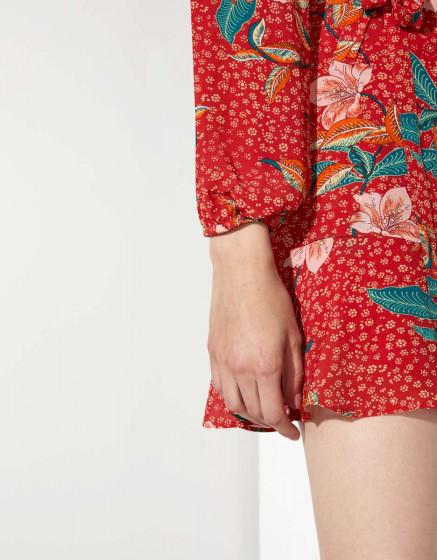 Dress Daivy - RED BLOSSOM
