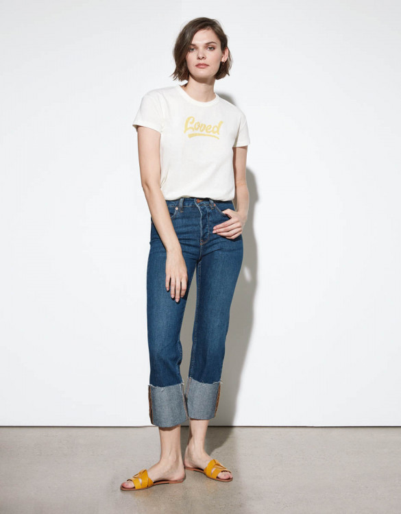 Highwaist cropped jean Milo - DNM V-310