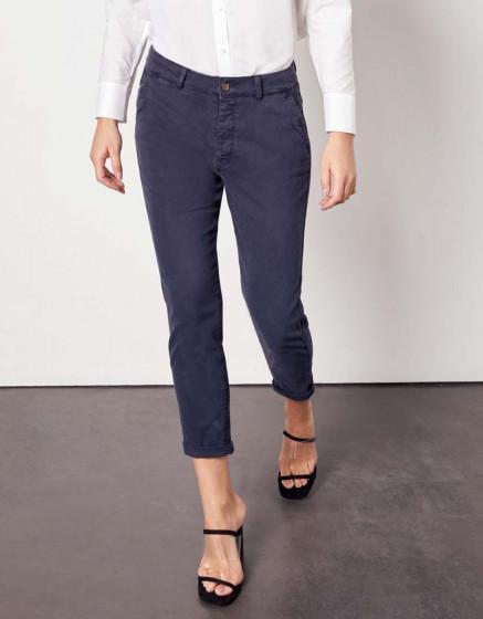 Pantalon chino Sandy Tapered - DARK NAVY