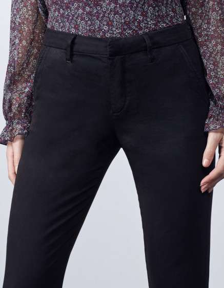 Chino trousers Sandy 2 Basic - BLACK