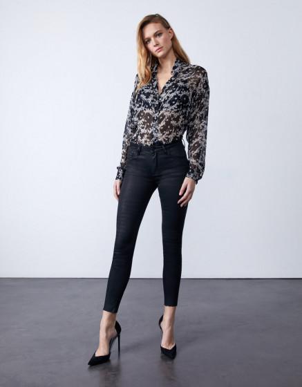 Jean skinny  Lily Enduction - BLACK