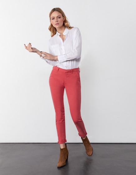 Pantalon chino Sandy 2 Basic - HOLLY BERRY