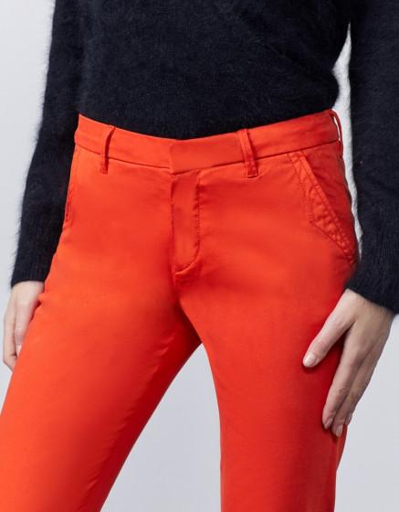 Pantalon chino Sandy 2 Basic - ORANGE PEPPER