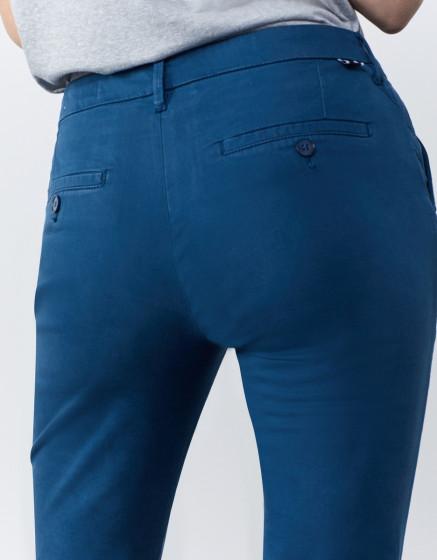 Pantalon chino Sandy 2 Basic - BLUE STEEL