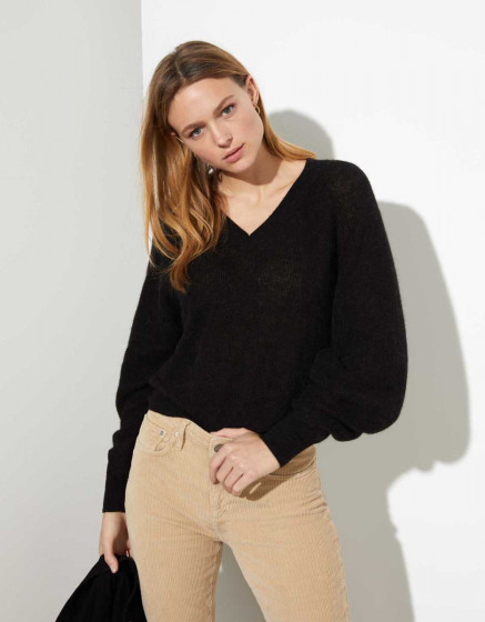 Pullover Perou - BLACK