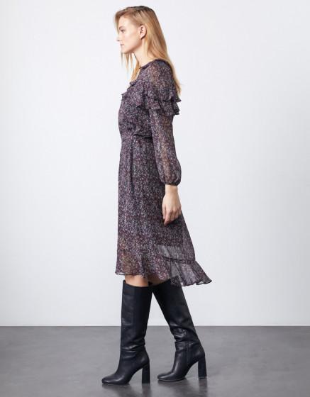 Dress Dorota - DARK FLOW