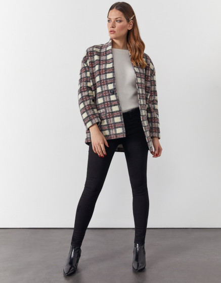 Coat Vita - WOOLEN CHECKS