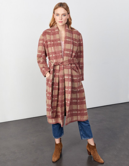 Manteau Monika - CANADIAN PLAID