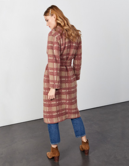 Coat Monika - CANADIAN PLAID