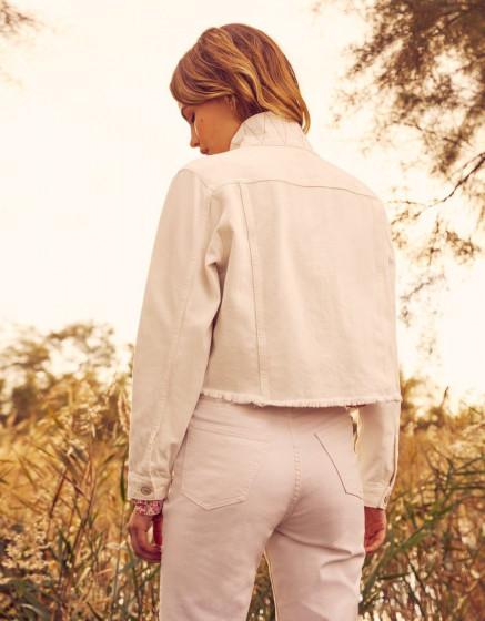 Veste Jamelia - DNM WHITE
