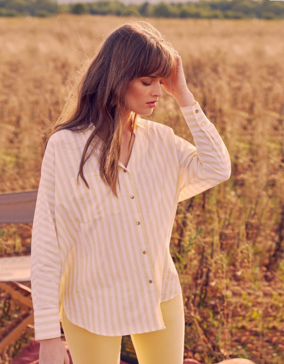 Shirt Camila Fancy - LEMONADE STRIPED