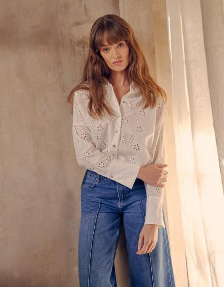 Shirt Charlee - FLOWERY