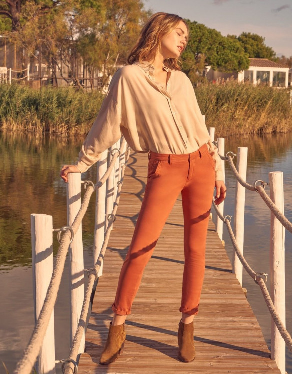 Chino Sandy Basic - GINGER SPICE