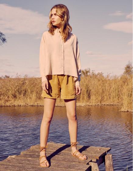 Shirt Bea Color - LIGHT SAND