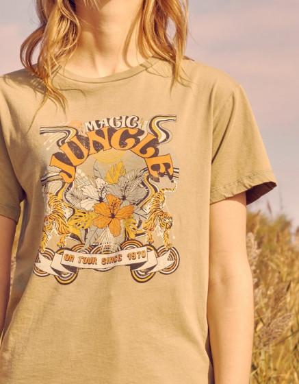 Tee-shirt Twiggy - OLIVE