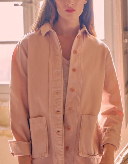Veste Fay Color - ROSE SMOKE
