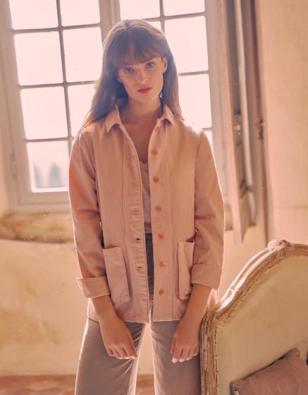 Jacket Fay Color - ROSE SMOKE