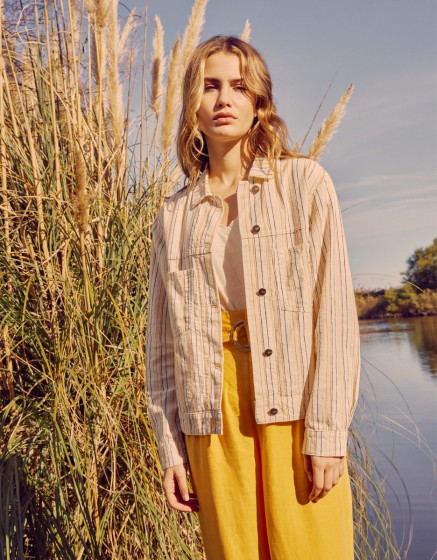 Jacket Jahna - CRAFTED STRIPED