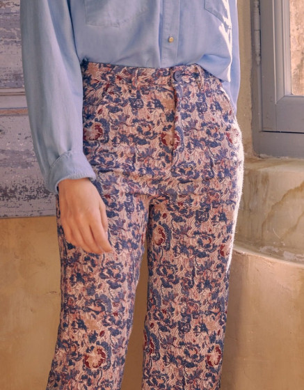 Chino Sandy High Waist Fancy - VINTAGE GARDEN