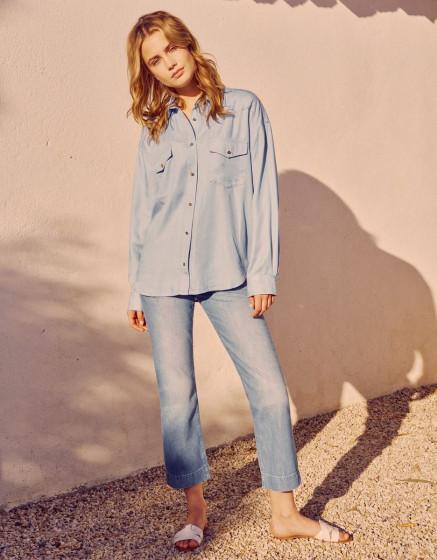 Shirt Callia - DNM BABY BLUE