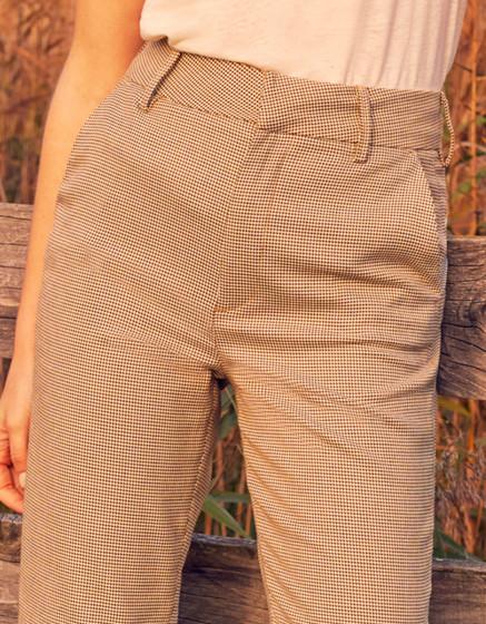 Pantalon cigarette Liv Straight - HONEYCOMB