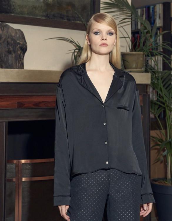 Shirt Billie - BLACK