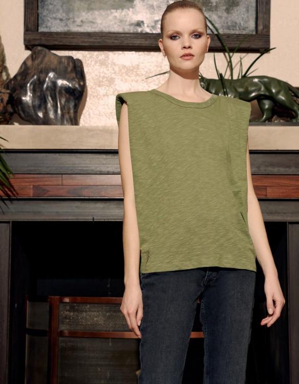 Tee-shirt Toby Print - KAKI