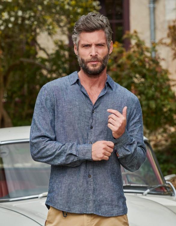 Shirt Niels - VINTAGE CHAMBRAY