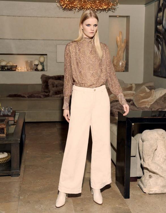 Wide trousers Pilly Velvet - MILKSHAKE