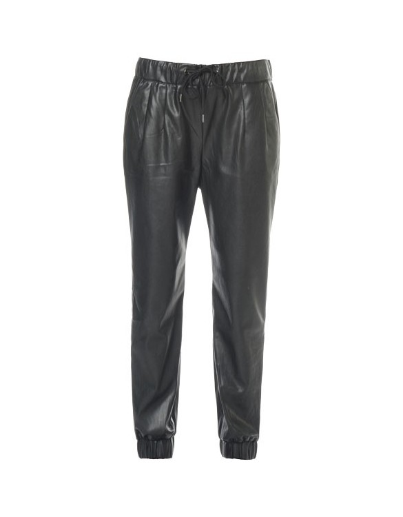 REIKO OKI leather effect Jog
