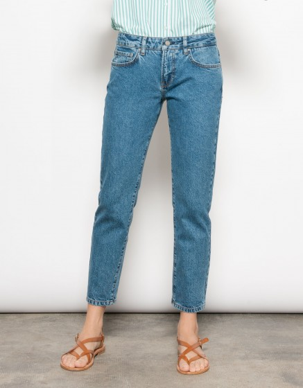 Jean Mom Lisa-DENIM BLUE