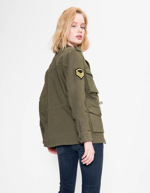 Jacket Army - KAKI